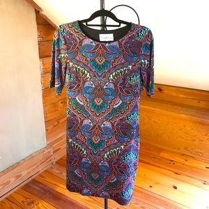 Nicole Miller Studio Multi-color Dress, EUC, 4